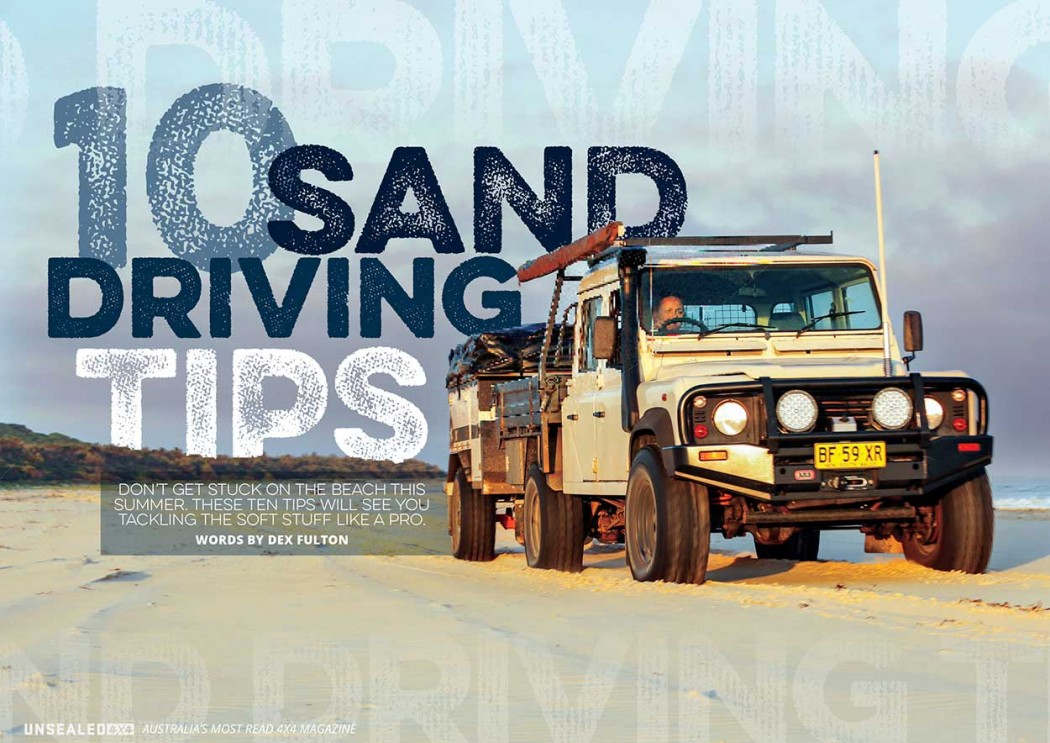 sand-driving
