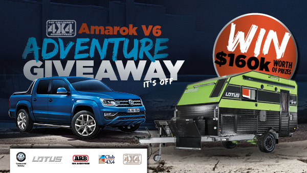 Amarok V6 Adventure Giveaway-2016-17-EDM-PC4X4