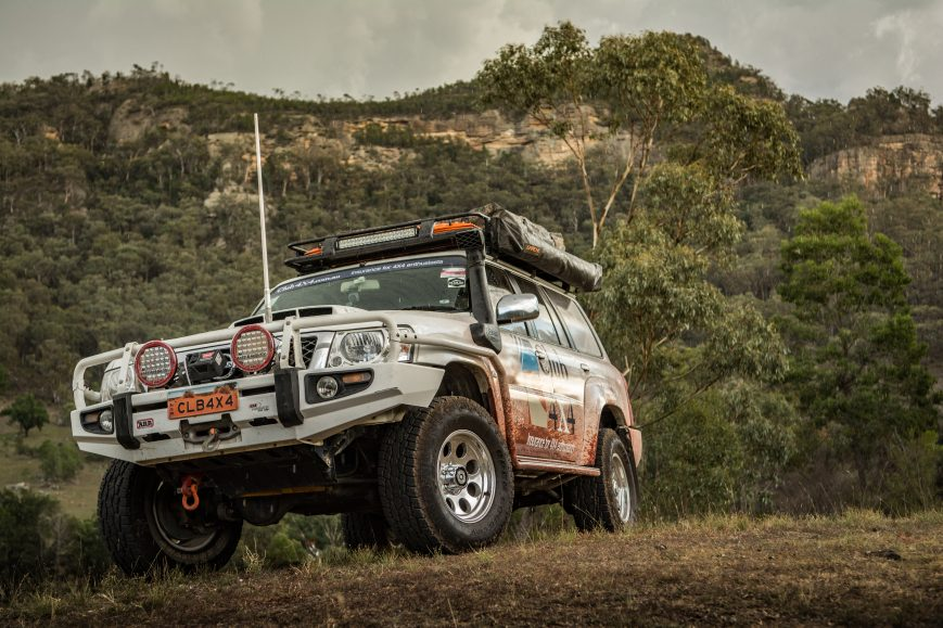 how to get to bylong creek 4x4 park