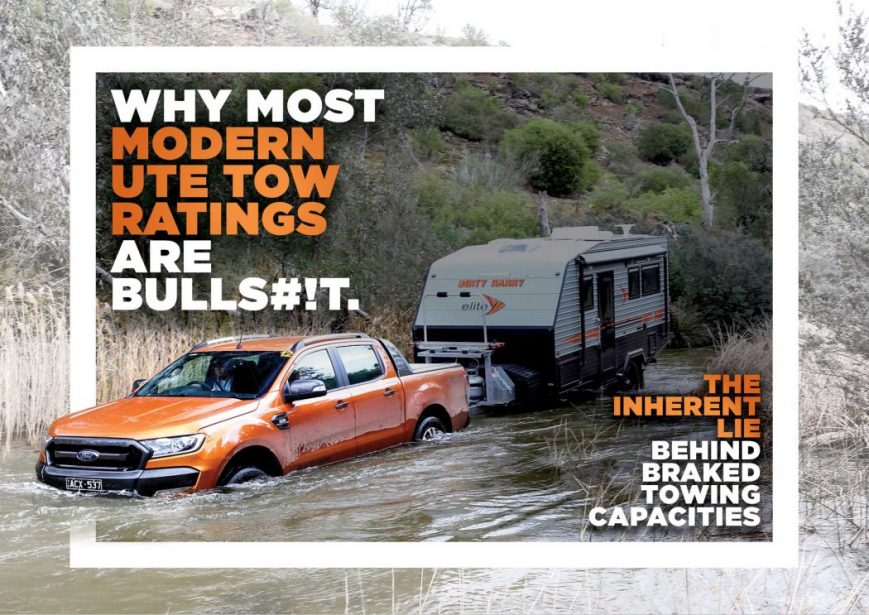 Why most modern UTE tow ratings are bulls#!t - CLUB 4X4