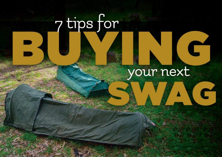 Tips Buying your swag