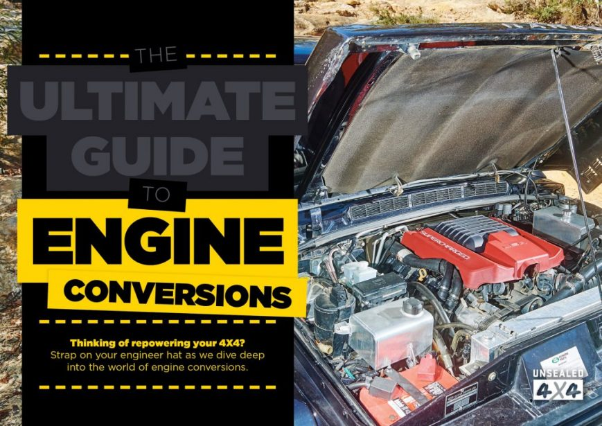 The Ultimate Guide To Engine Conversion - CLUB 4X4