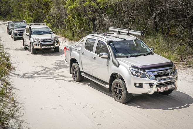Isuzu-I-Venture-Club-on-Fraser-Island