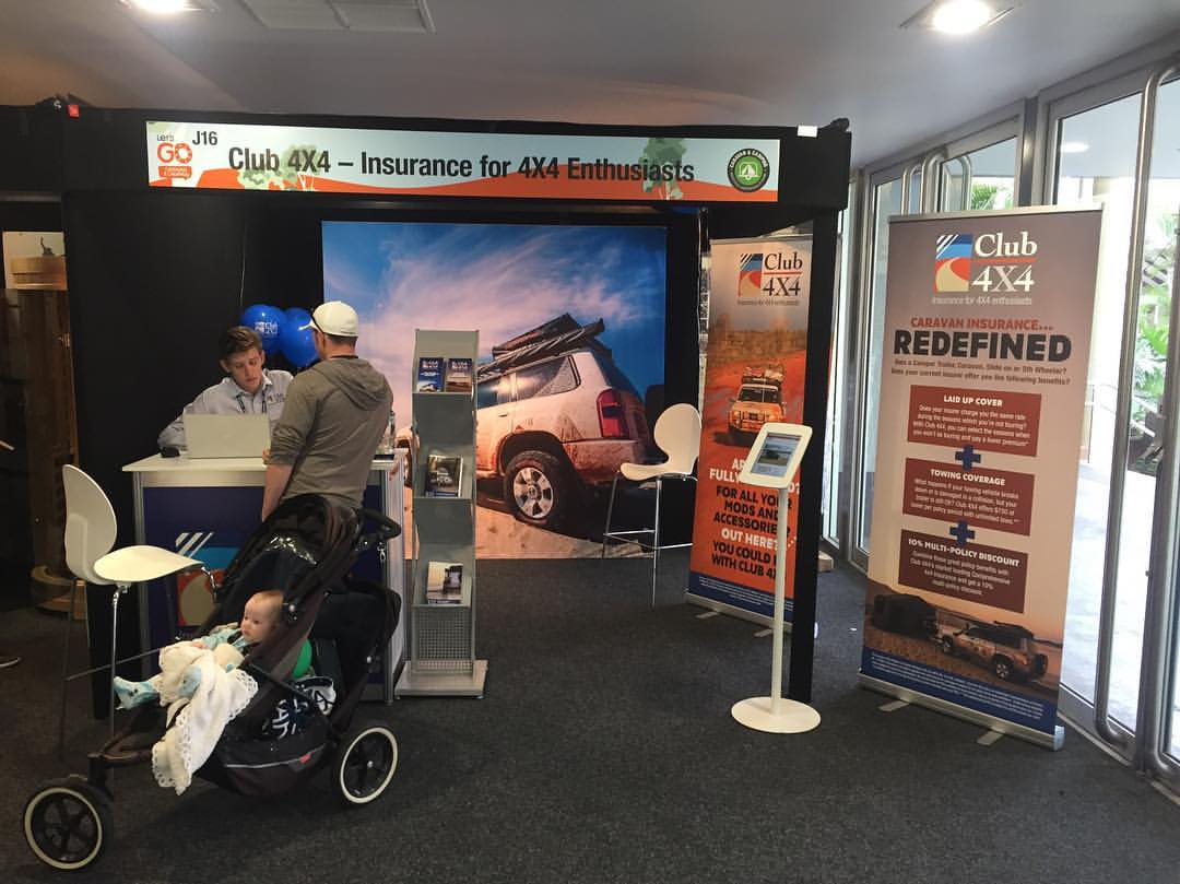 Club 4X4 at the Queensland Outdoor Adventure and Motoring Expo
