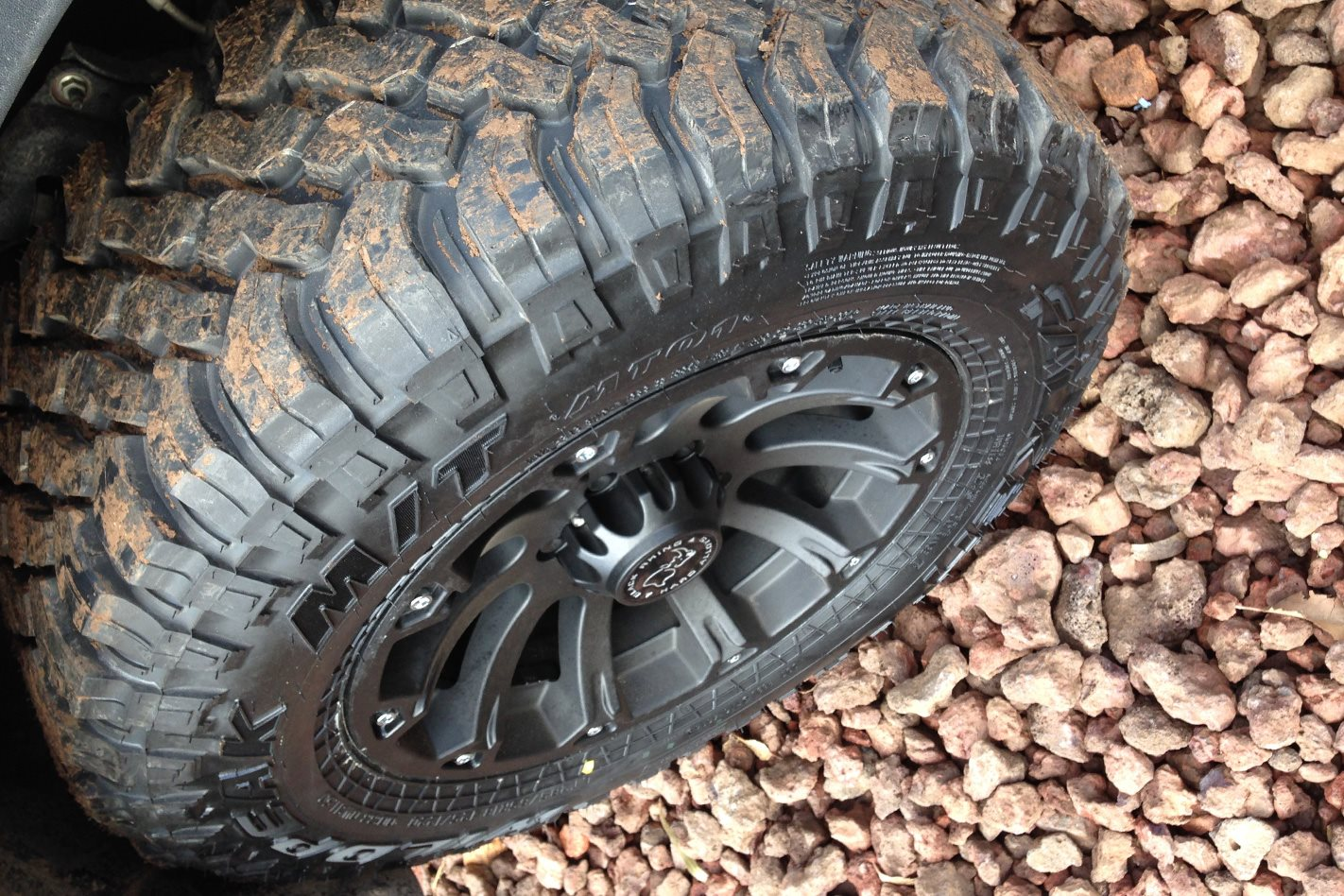 Tyres-on-rough-terrain