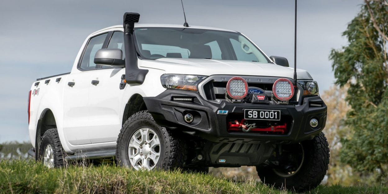 Under vehicle armour on ford ranger