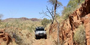 4x4 off roading in the outbacks