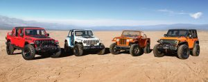 2021 Jeep Concept Vehicles to rock Moab