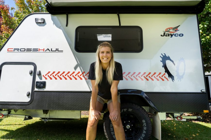 Jayco's new compact CrossHaul goes from Work to Weekend